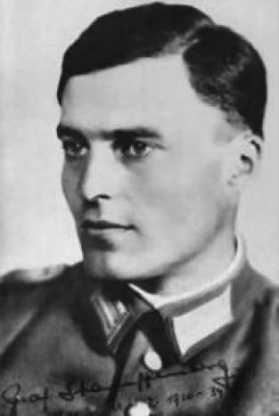 Col Claus von Stauffenberg