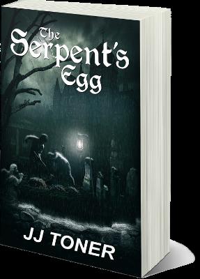 Book cover - The Serpents Egg JJ Toner