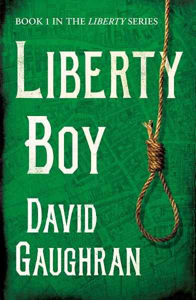 Book cover - Liberty Boy