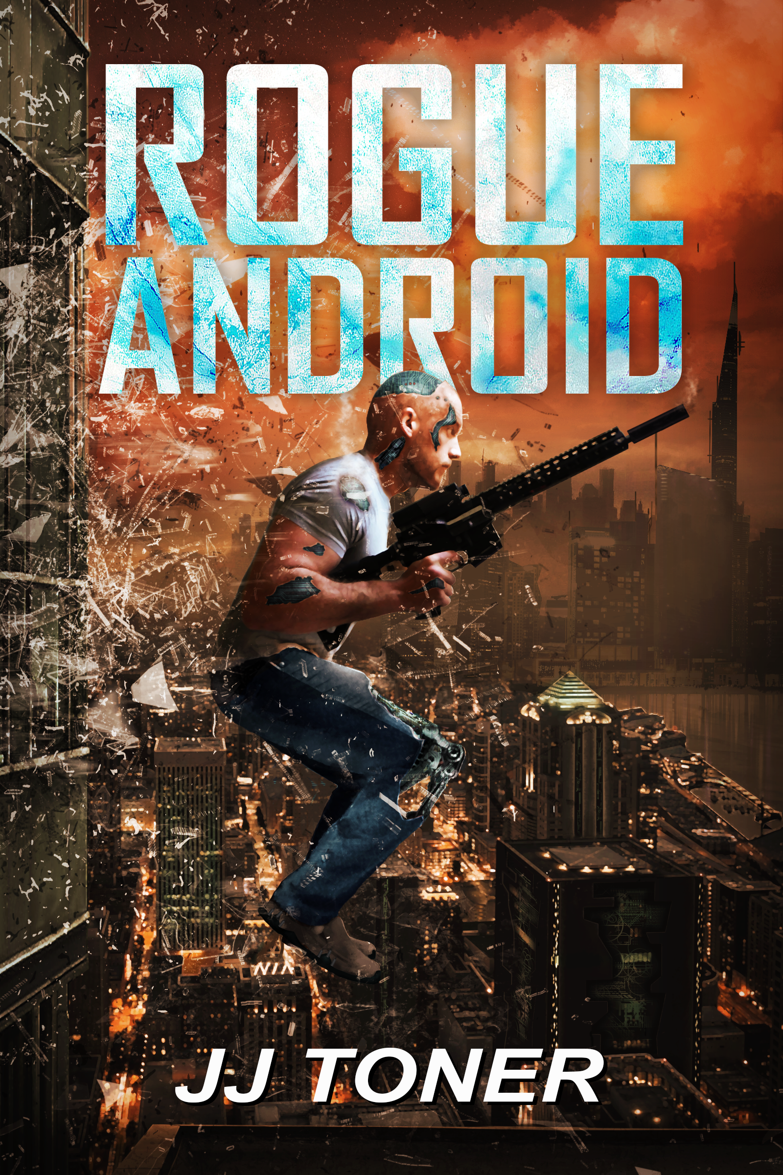 Rogue Android book cover - JJ Toner