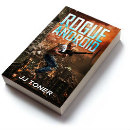 Book cover for Rogue Android by JJ Toner