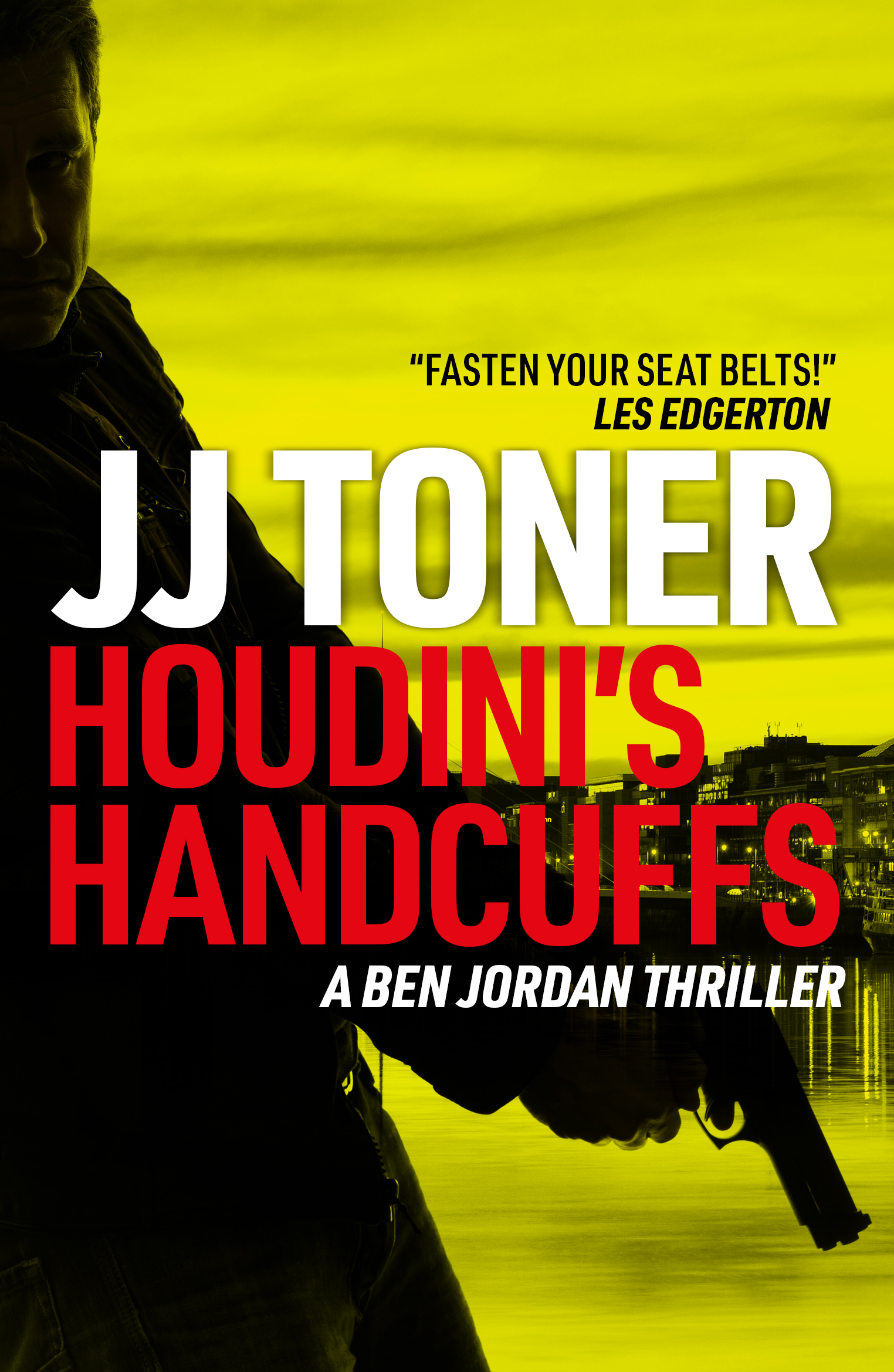 Book cover for JJ Toner's Houdini's Handcuffs
