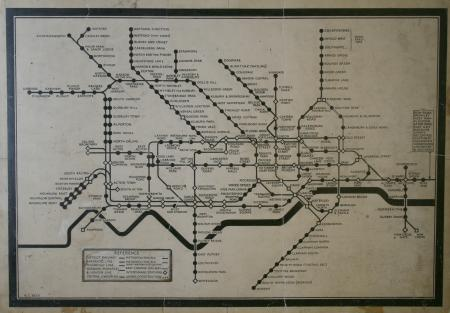 H Beck's map